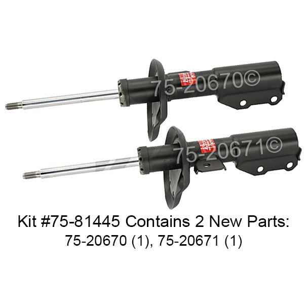 Saturn Ion                            Shock and Strut SetShock and Strut Set