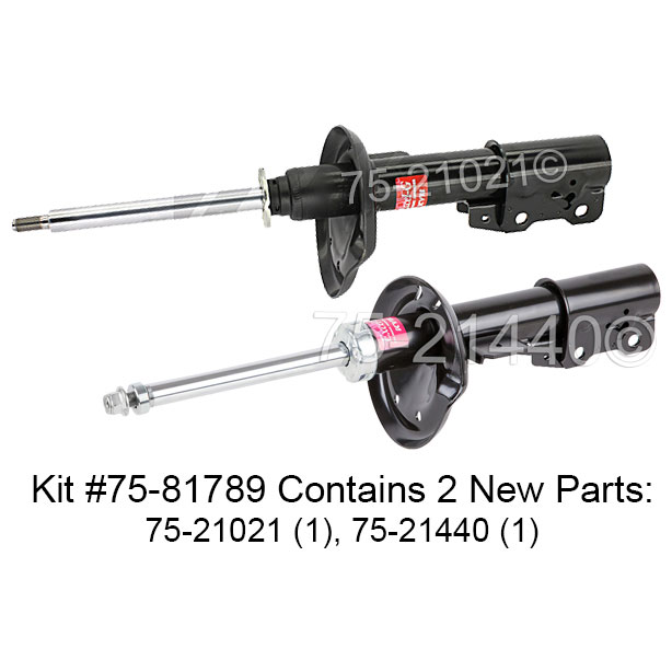 Chevrolet HHR                            Shock and Strut SetShock and Strut Set