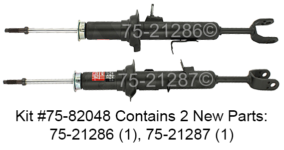 Nissan 350Z                           Shock and Strut SetShock and Strut Set