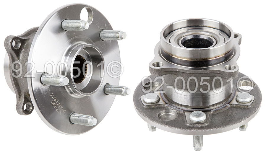 Lexus LS400                          Wheel Hub AssemblyWheel Hub Assembly