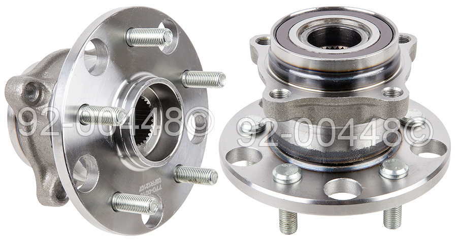 Lexus IS250                          Wheel Hub AssemblyWheel Hub Assembly