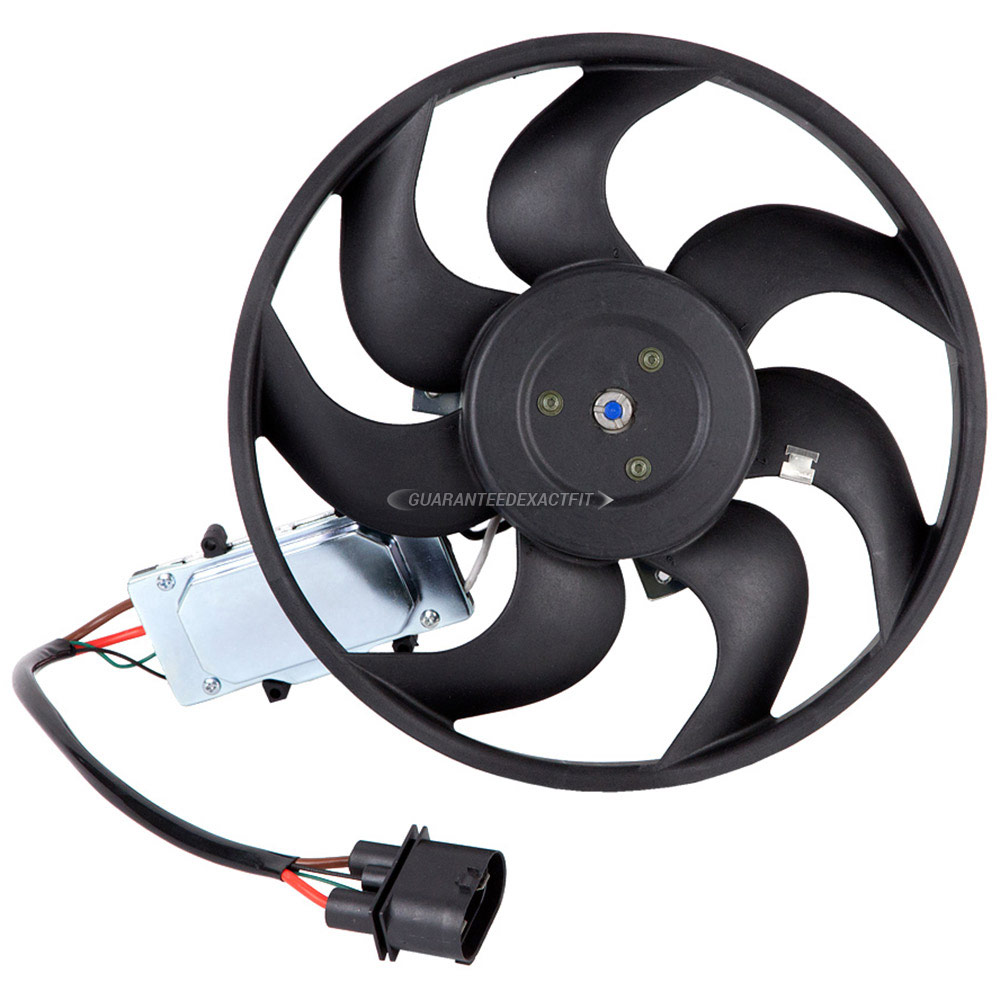 Volkswagen Touareg                        Cooling Fan AssemblyCooling Fan Assembly