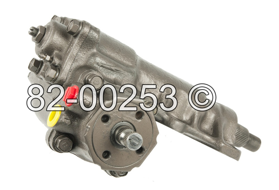 Dodge D50 Ram                        Power Steering Gear Box