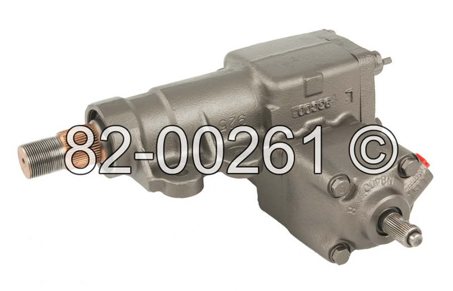 Nissan Pathfinder                     Power Steering Gear Box