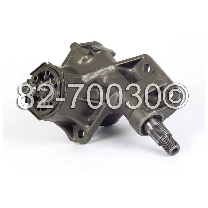 Dodge Custom 880                     Manual Steering Gear Box