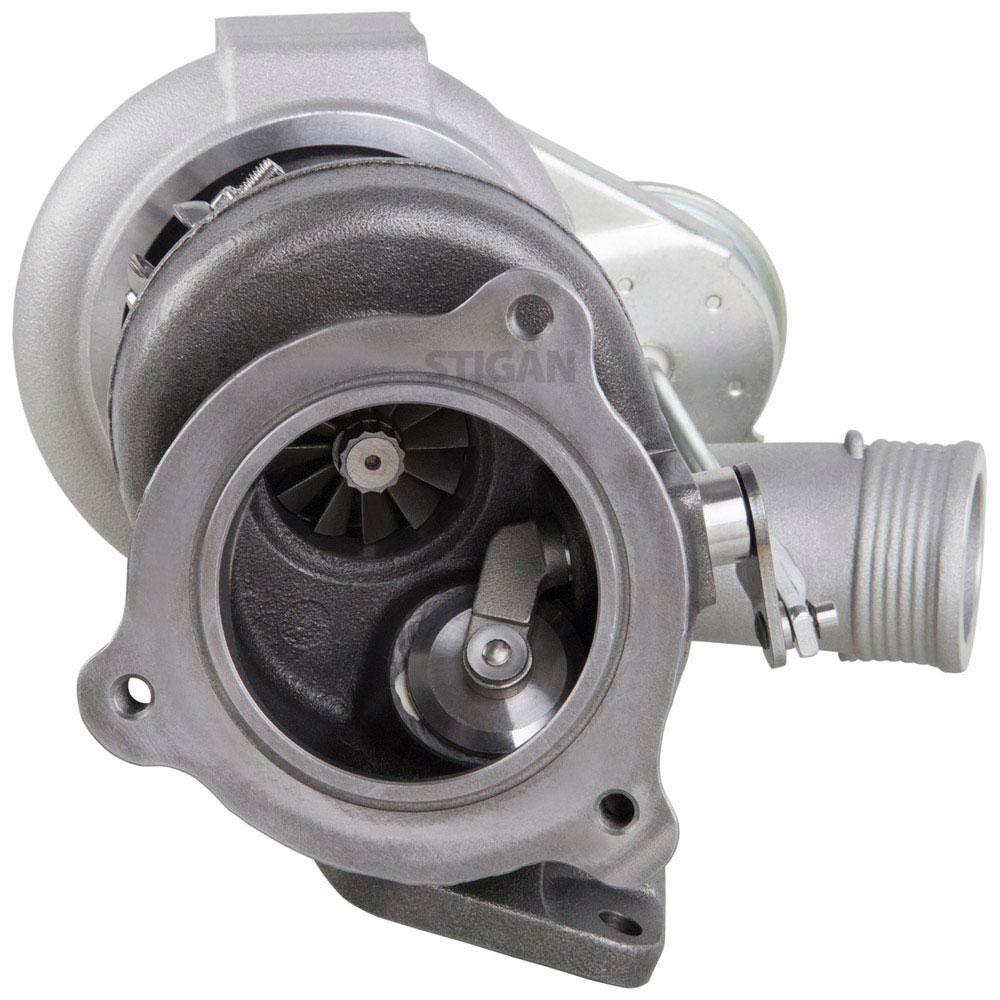 2006 Volvo S60 Turbocharger 2.5L Engine