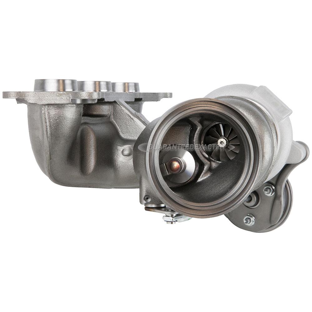 2008 BMW 535i Turbocharger Rear Turbocharger [Cylinders 4