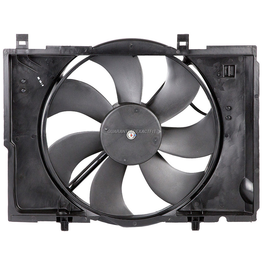 Mercedes_Benz SLK32 AMG                      Cooling Fan AssemblyCooling Fan Assembly