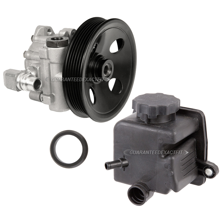 mercedes benz ml500 power steering pump kit parts view