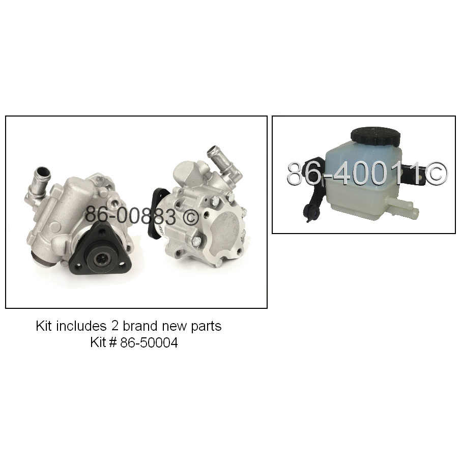 Audi A4                             Power Steering Pump KitPower Steering Pump Kit