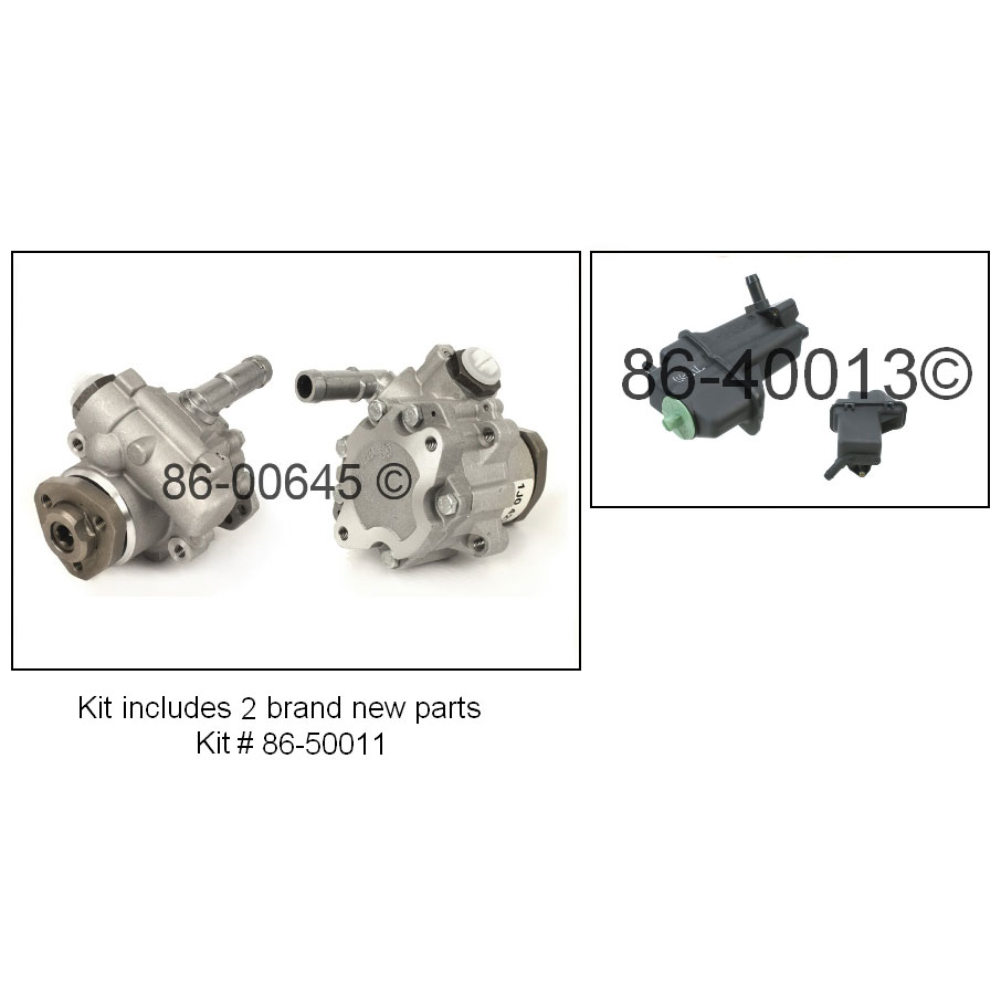 Audi TT                             Power Steering Pump KitPower Steering Pump Kit
