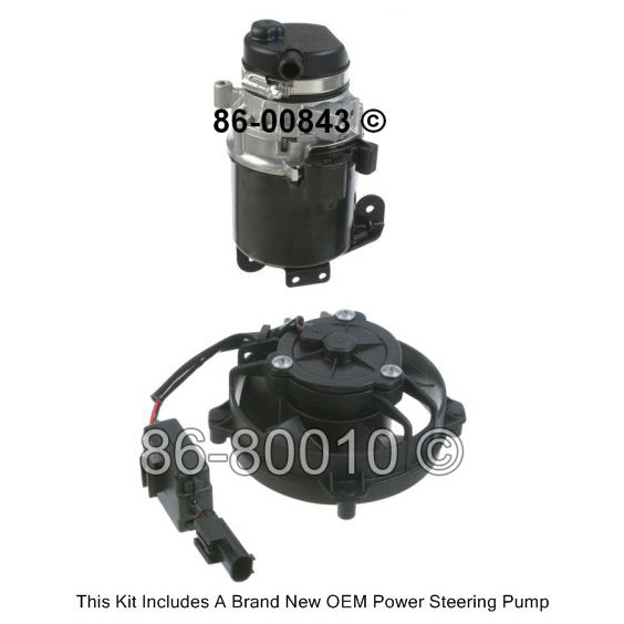 Mini Cooper Power Steering Pump Kit