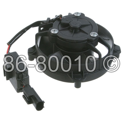 Mini Cooper Steering Pump Cooling Fan