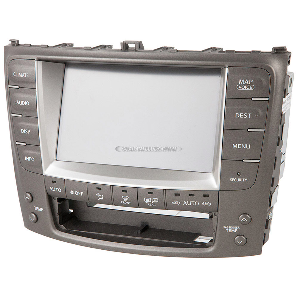 Lexus IS250                          Navigation UnitNavigation Unit