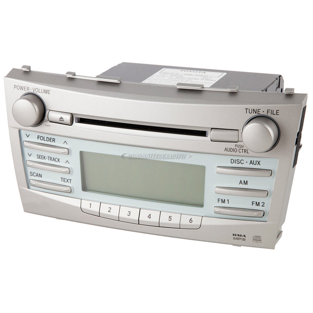 Toyota Camry                          Radio or CD PlayerRadio or CD Player