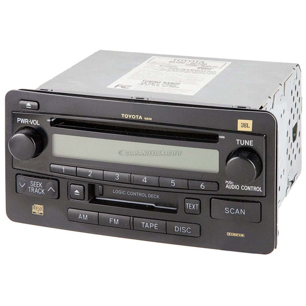 Toyota Tundra                         Radio or CD PlayerRadio or CD Player
