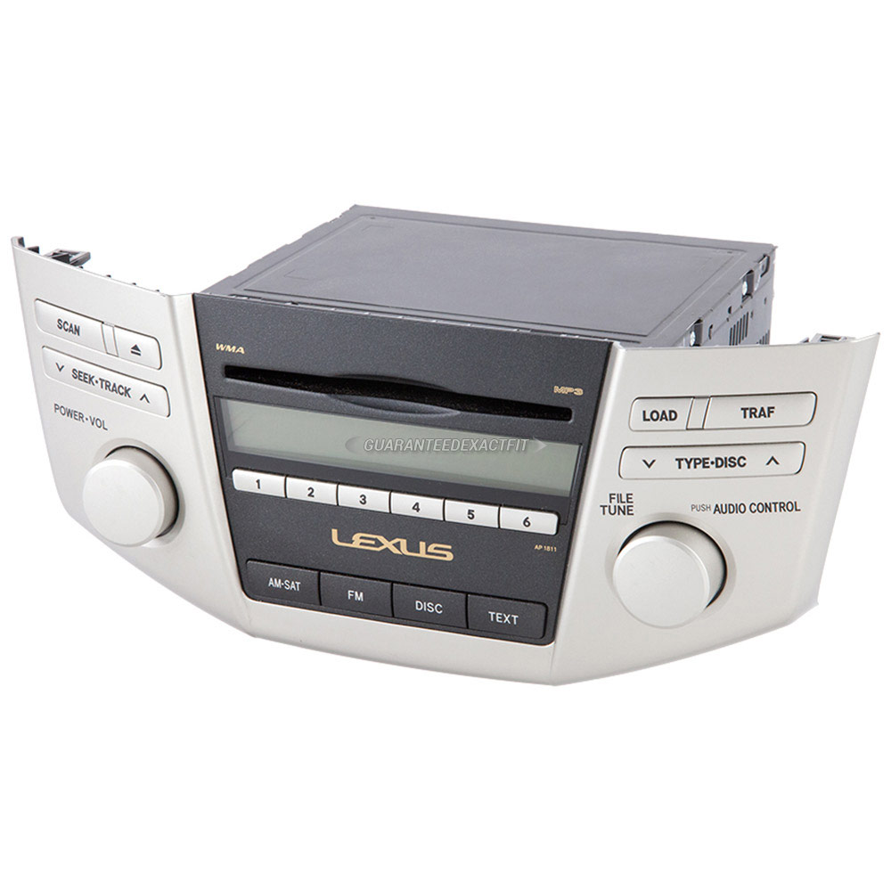 Lexus RX400h                         Radio or CD PlayerRadio or CD Player