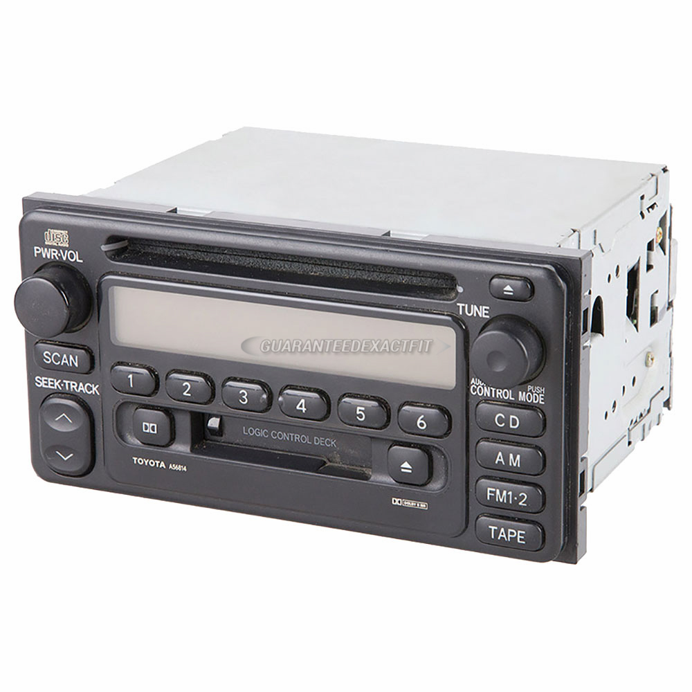 Toyota MR2                            Radio or CD Player