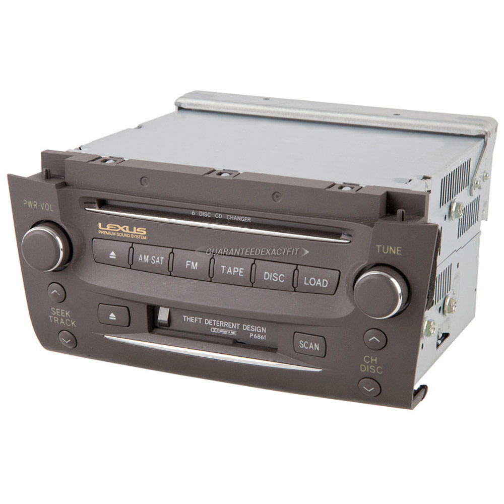 Lexus GS300                          Radio or CD Player