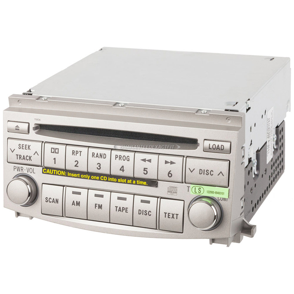 Toyota Avalon                         Radio or CD PlayerRadio or CD Player