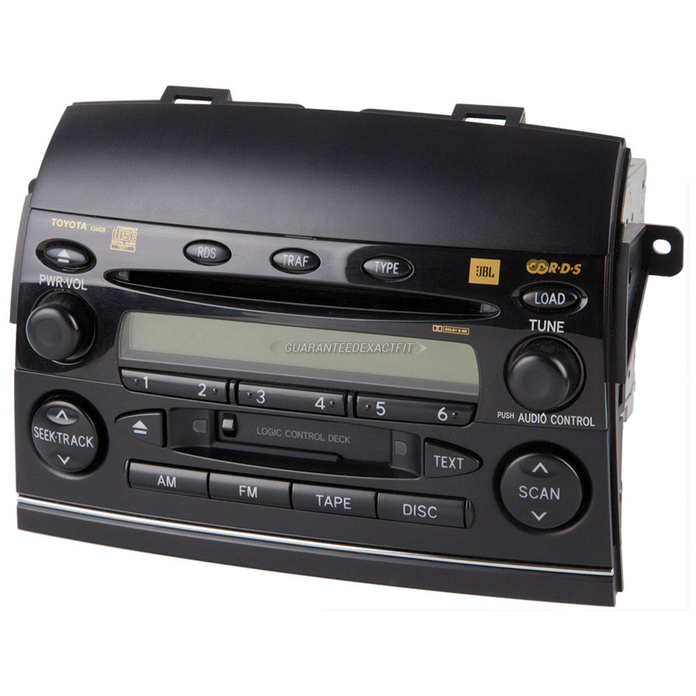 Toyota Sienna                         Radio or CD PlayerRadio or CD Player