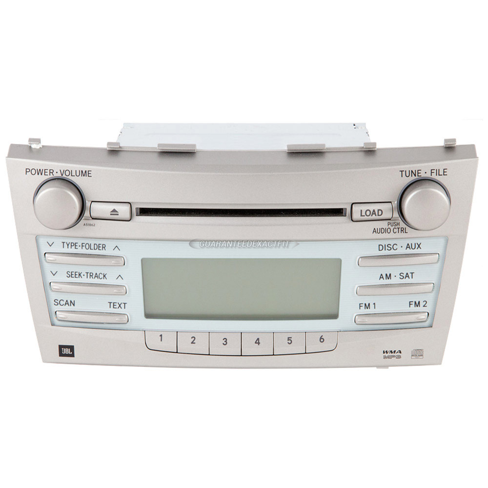 2008 toyota camry radio or cd player parts from car parts warehouse. Black Bedroom Furniture Sets. Home Design Ideas