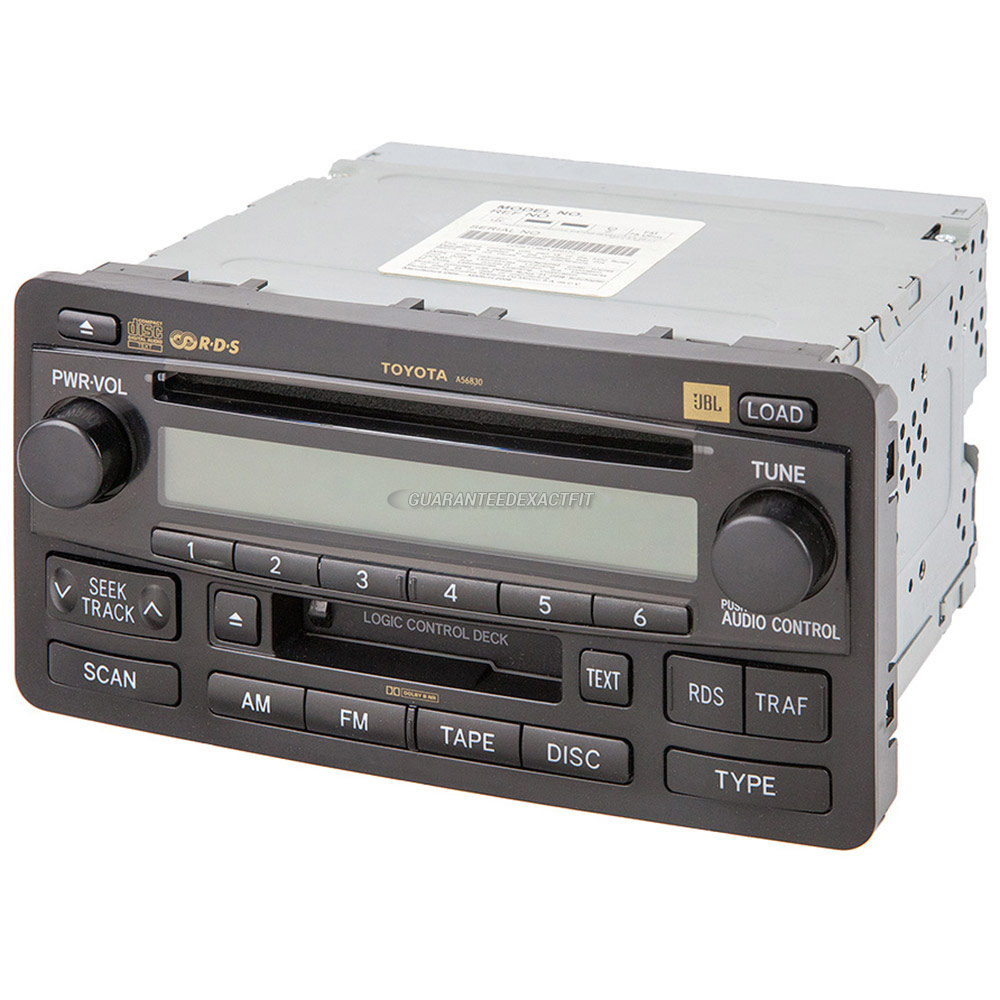 Toyota Sequoia                        Radio or CD PlayerRadio or CD Player