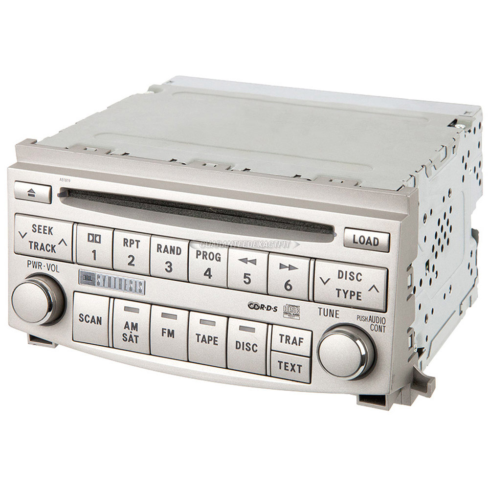 Toyota Avalon                         Radio or CD PlayerRadio or CD Player
