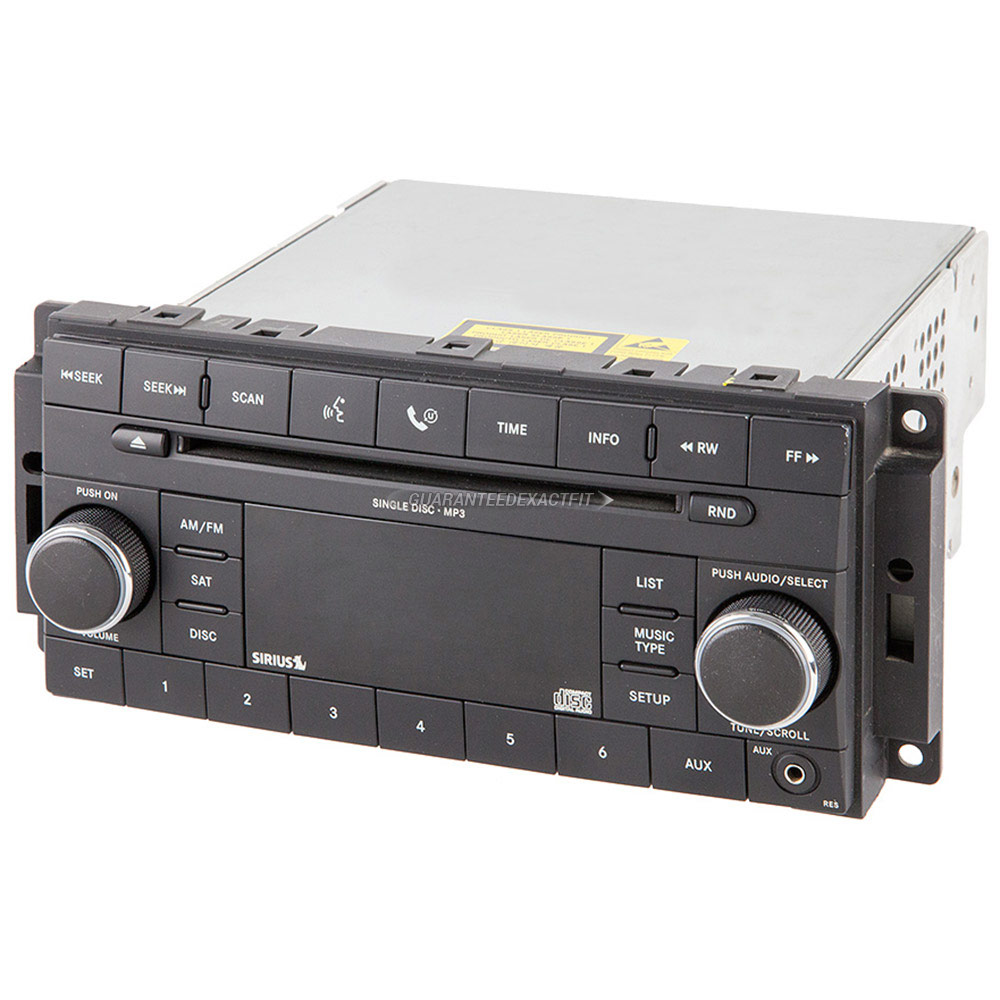 Mitsubishi Endeavor                       Radio or CD PlayerRadio or CD Player
