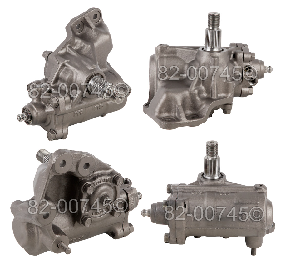 Chevrolet W3500                          Power Steering Gear Box