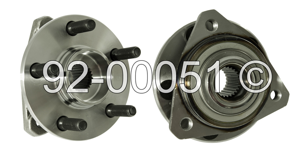 Chrysler Sebring                        Wheel Hub AssemblyWheel Hub Assembly