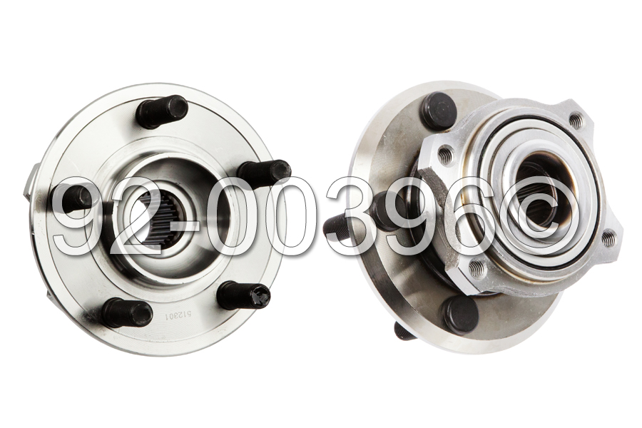 Dodge Charger                        Wheel Hub AssemblyWheel Hub Assembly