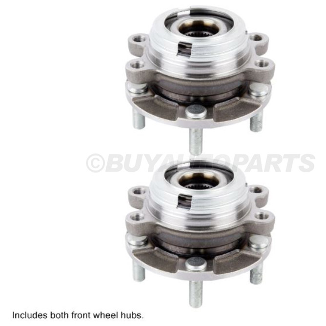 Nissan Maxima                         Wheel Hub Assembly KitWheel Hub Assembly Kit