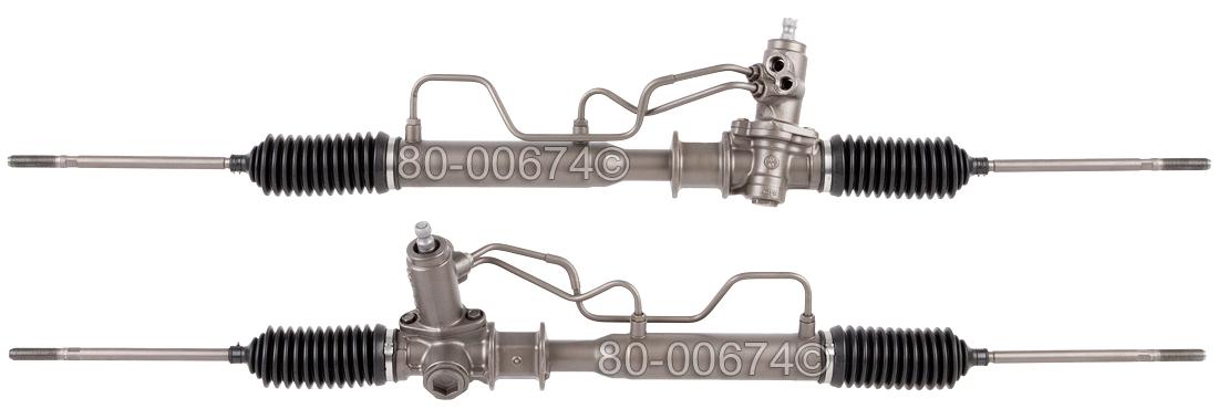 Mitsubishi Expo and Expo LRV              Power Steering Rack