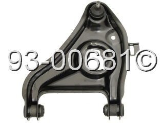Fits: Front Right Lower Control Arm - 2WD Models with Standard Duty ...