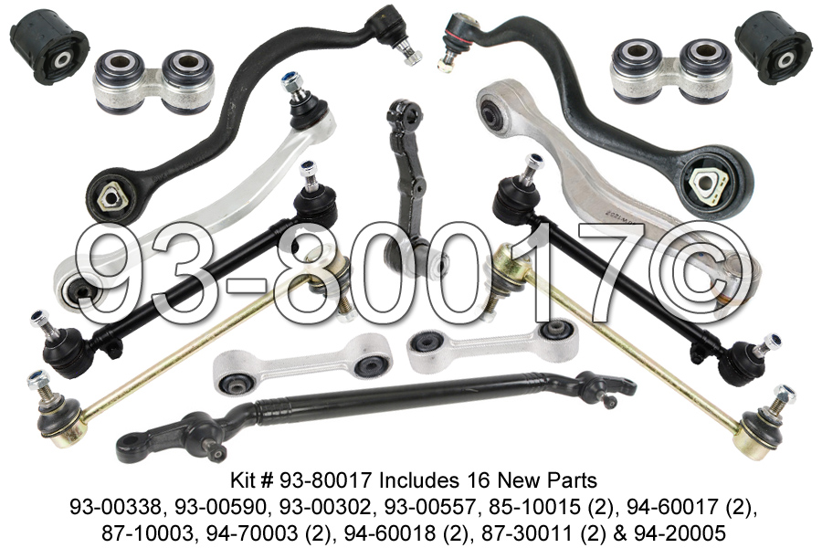 BMW 735                            Control Arm KitControl Arm Kit