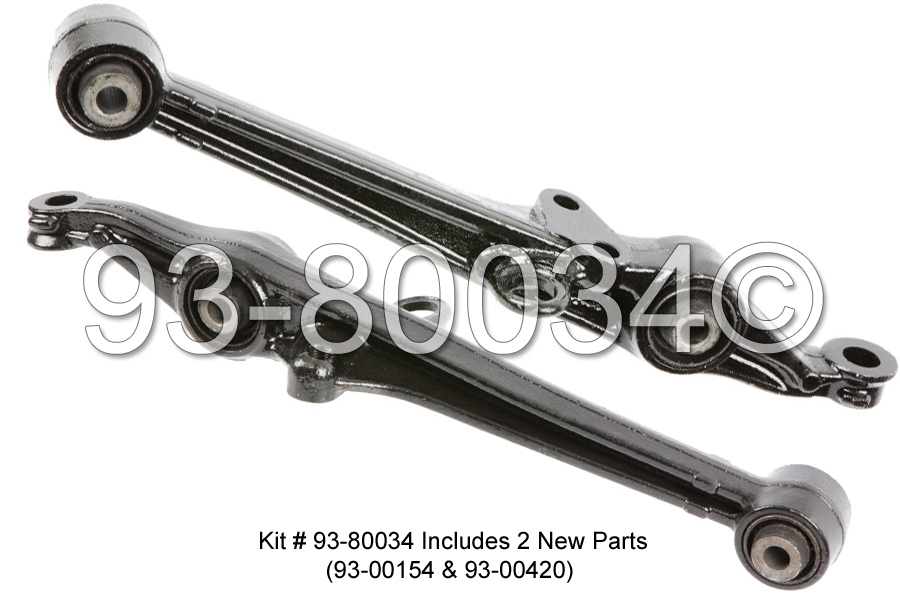 Acura CL                             Control Arm KitControl Arm Kit