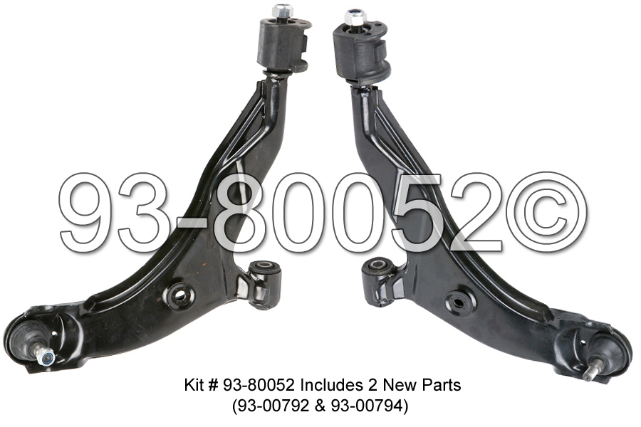 Hyundai Accent                         Control Arm KitControl Arm Kit