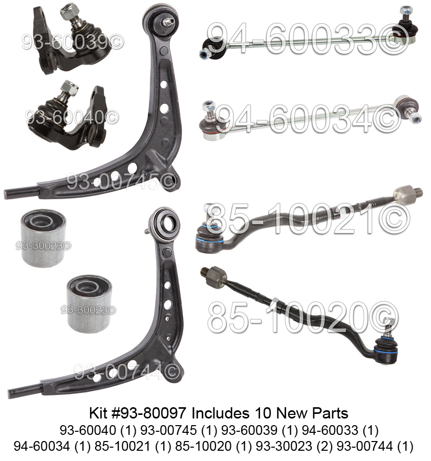 BMW 325xi                          Control Arm KitControl Arm Kit