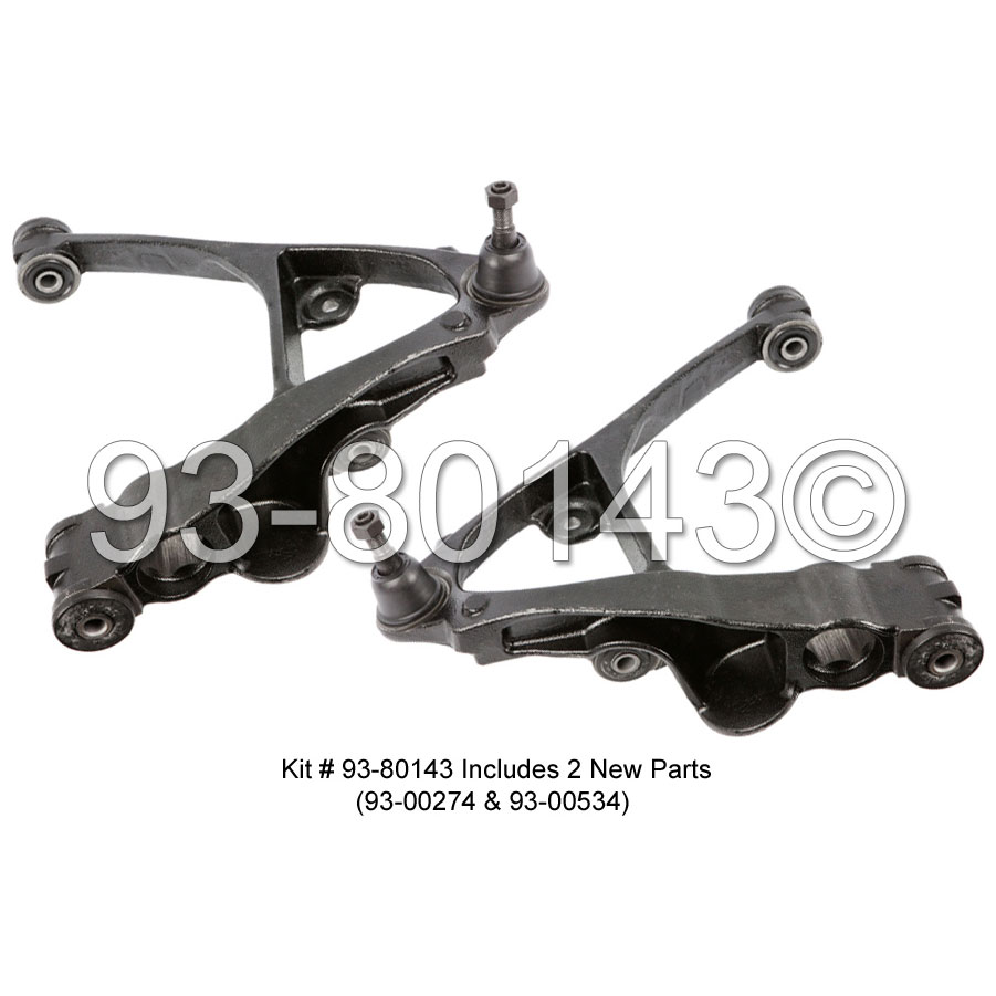 GMC Sierra                         Control Arm KitControl Arm Kit