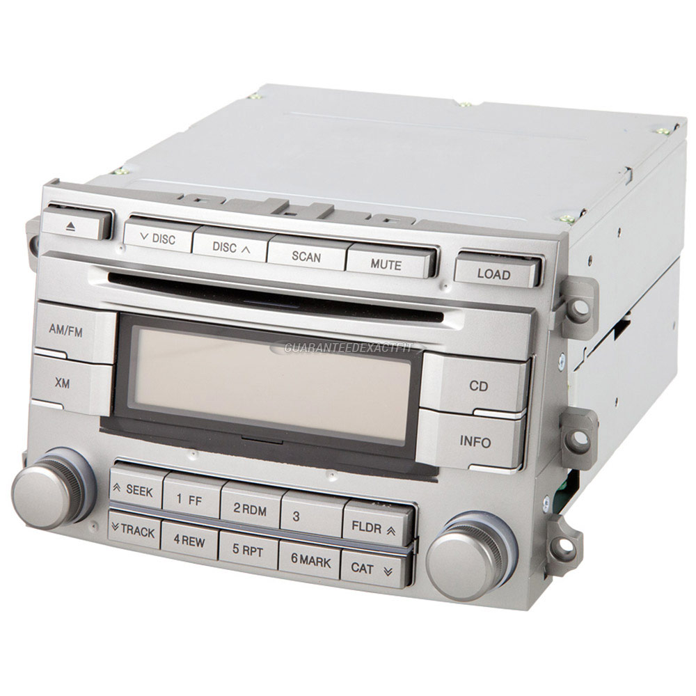 Hyundai Veracruz                       Radio or CD PlayerRadio or CD Player