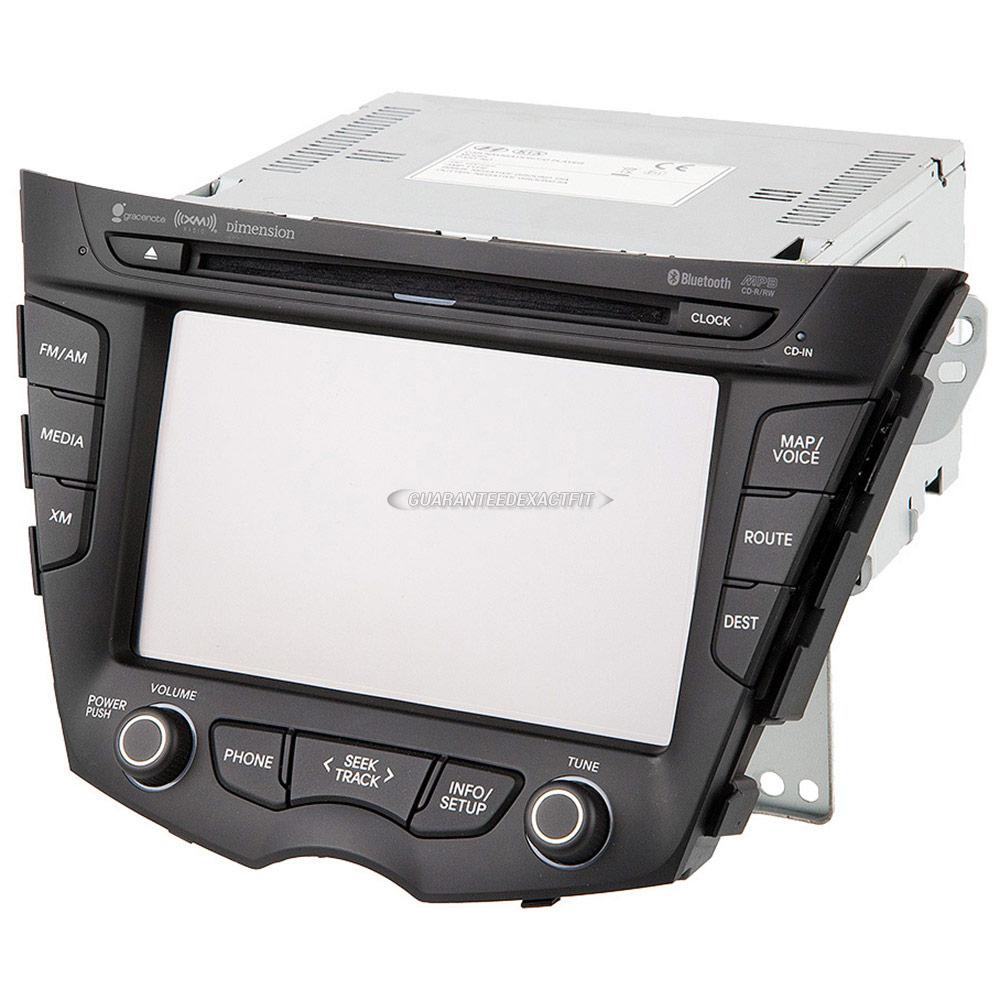 Hyundai Veloster                       Navigation UnitNavigation Unit