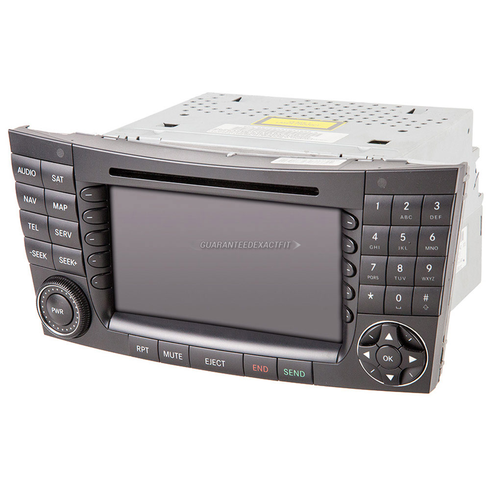 Mercedes_Benz E55 AMG                        Navigation UnitNavigation Unit