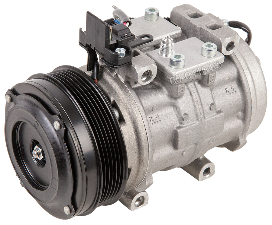 Mercedes_Benz 300SD                          A/C Compressor