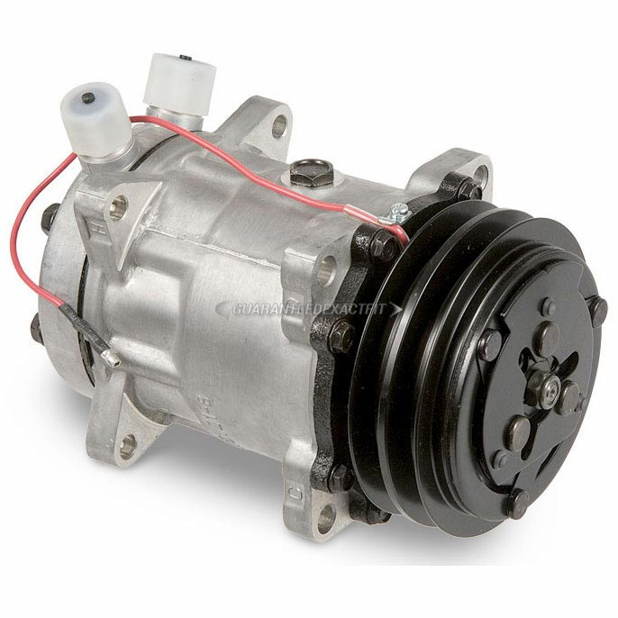 Specialty and Performance Sanden A/C Compressor