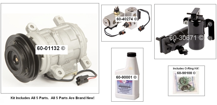 Dodge Caravan AC Kit