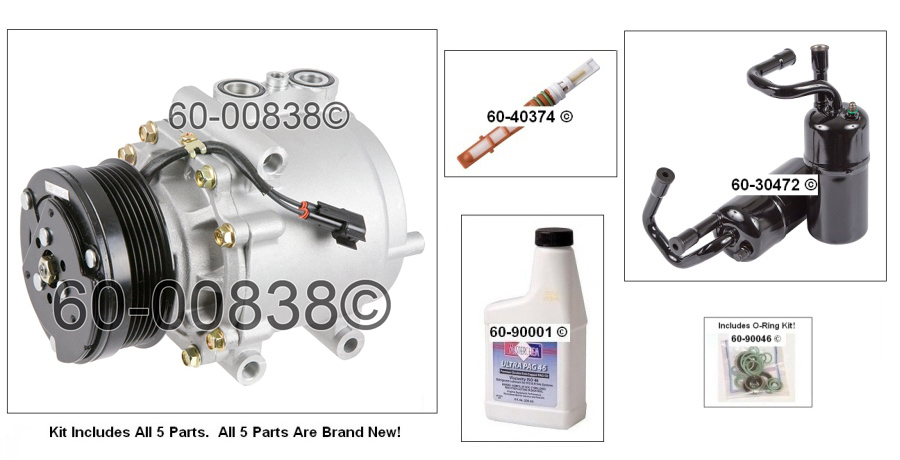 Mercury Grand Marquis AC Kit