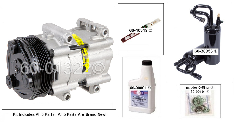 Mazda B-Series Truck AC Kit