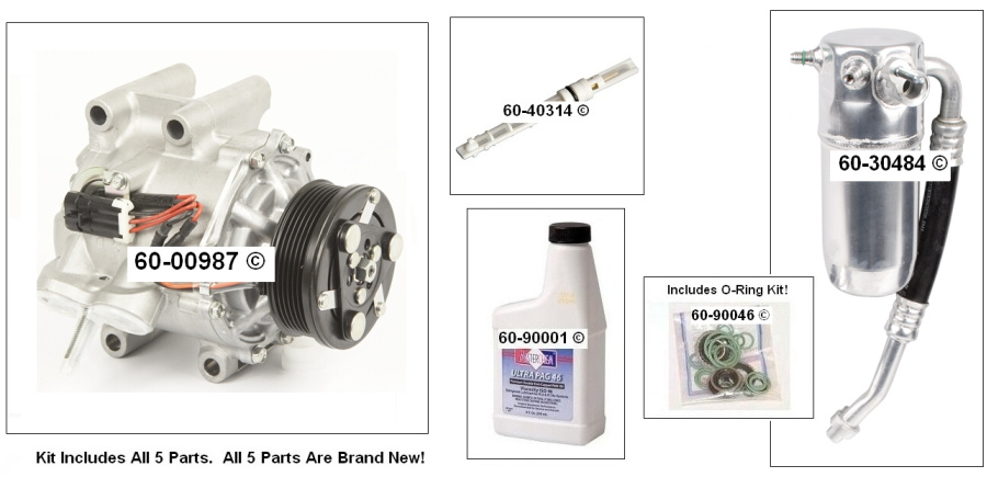 Oldsmobile Bravada AC Kit