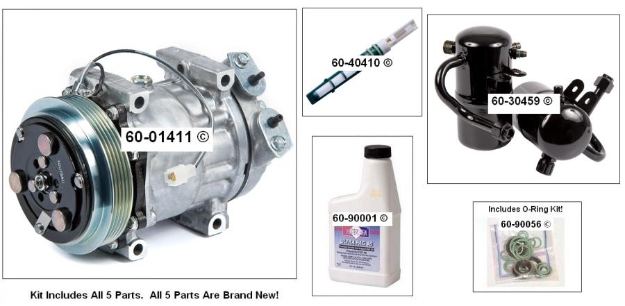 Mazda 626 AC Kit